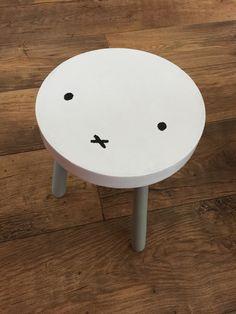 DIY Miffy stool - gør det på flexa skamlerne