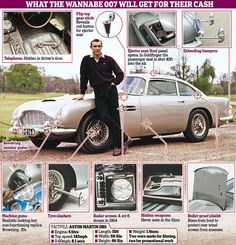 Aston Martin names new hypercar Valhalla - and it will be used by Bond New Aston Martin, Aston Martin Lagonda, James Bond Cars, James Bond Movies, Gentlemans Club, Daniel Craig, James Bond Goldfinger, Next Bond, Classic Cars