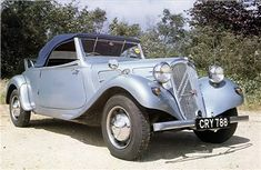 Citroen Traction Avant 7CV Cabrio, 1938