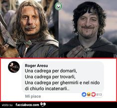 Verona, Italian Humor, Lotr, Vignettes, Aldo, Writer, Funny Pictures, Funny Memes, Songs
