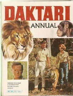 Daktari, featuring Clarence the cross eyed lion.