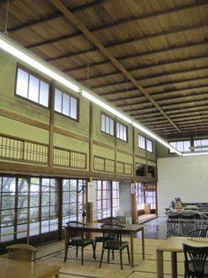 Interior of  of Oukoku Bunko's japanese style huge atelier