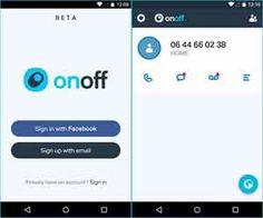 OnOff App : l'appli multi-sim gratuite + le premier numéro de mobile offert