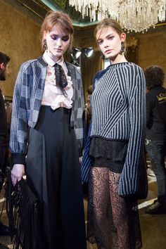 Les Copains at Milan Fall 2016 (Backstage)