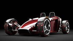 2025 Sunbeam Tiger electric car concept