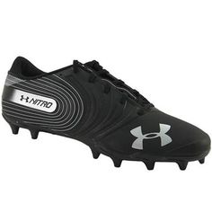 Under Armour Nitro Mc Football Cleats - Mens Black Mens Football Cleats, Men's Football, Rogan's Shoes, Under Armour, Footwear, Pairs, Running, Sneakers, Black
