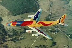 Braniff International DC-8 (Alexander Calder)