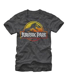 Another great find on #zulily! Charcoal Heather Jurassic Park Tee #zulilyfinds