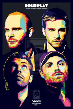 #Coldplay #poster