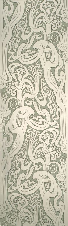 """I love how they describe this paper! """"Art Nouveau meets 1960's psychedelia"""" It's so true and I love it!"""