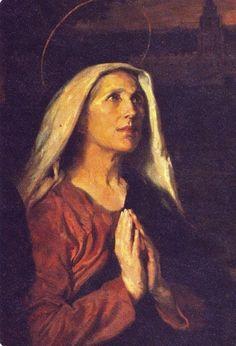 Fiesta de Santa Mónica, madre de san Agustín ¡Felicidades a todas las Madres del…