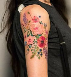 Flowers tattoo Here we have great picture about italian flower tattoo. We wish … - Inspirierende Tattoos Vintage Floral Tattoos, Vintage Flower Tattoo, Flower Tattoo Foot, Tattoo Flowers, Cover Up Tattoos, Foot Tattoos, Body Art Tattoos, Key Tattoos, Pretty Tattoos