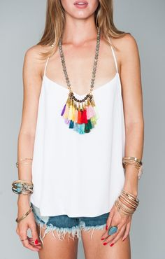 Catherine Page - Rainbow Tassel Necklace | Show Me Your MuMu