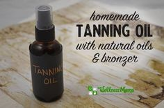 DIY Sandalwood Tanning Oil