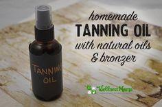 DIY Sandalwood Tanning Oil