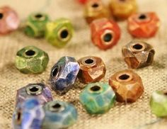 Make Faux Gemstones: Create Marbled Clay Cabochons and Faux Faceted Gems with Polymer Clay - Jewelry Making Daily - Blogs