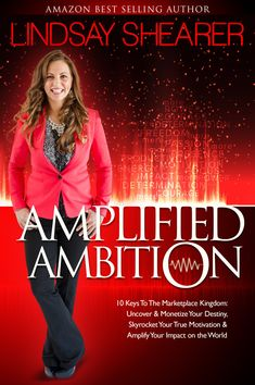 Lindsay Shearer is the Amazon Best Selling Author of the hit Book, Amplified Ambition. She is an international business owner, peak performance business coach, and keynote/workshop speaker.
