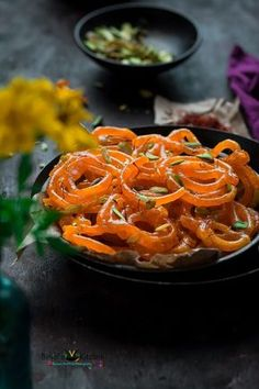 Jalebi is typically served as a 'celebration sweet'. Jalebi has crispy, juicy texture. In the form of dessert, Jalebi is served with malai, yogurt or rabri Indian Dessert Recipes, Ethnic Recipes, Indian Sweets, Indian Snacks, Indian Recipes, Vegetarian Recipes, Cooking Recipes, Snack Recipes, Cooking Food