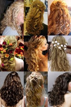 Hair styles for prom x thought about char and Makenna