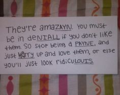 This is amazayn fabulouis extrodinharry brilliam and you are in deniall if you dont think so