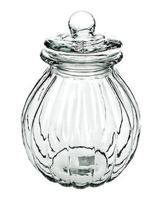 Amici Home's Medium Onion Jar is perfect for storing rice, flour, sugar, candy, and other dry goods. The gasket keeps the contents of the jar fresh. Glass Storage Jars, Jar Storage, Glass Jars, Spice Jar Set, Sea Witch, Bath Accessories, Onion, Vintage Fashion, Vintage Style