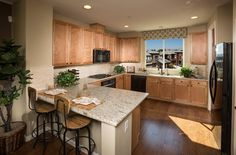The Towns at Berryessa Crossing, a KB Home Community in San Jose, CA (Bay Area) South Bay Area, Kb Homes, New Homes For Sale, San Jose, New Construction, Floor Plans, Community, Flooring, Kitchen