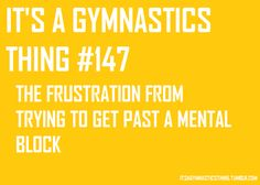 gymnastics life problems | ... KNOW gymnastics should stop attempting to write ABOUT gymnastics
