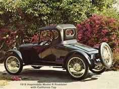 1918 Hupmobile Model R Roadster - (Hupp Motor Car Corp. Detroit, Michigan, 1908-1940)