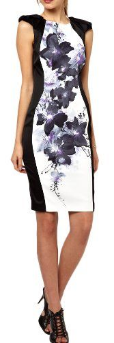 Blingbelle Women's Print Dress #workdresses