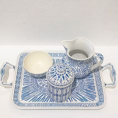 Goodmorning! breakfast set by Alessandro Mendini 1994.