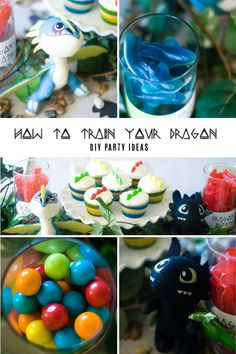 How To Train Your Dragon party/movie