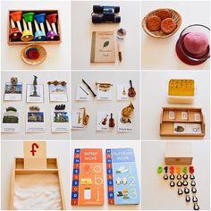 Montessori Home Materials for a preschooler