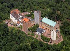 ...die Wartburg bei Eisenach,...
