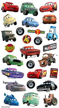EK Success - Disney Collection - Classic Stickers - Cars at Scrapbook.com $1.64