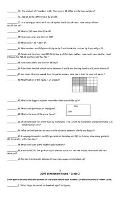 Grade 2 mtap reviewer What's The Number, Math Challenge, Grade 2, Iphone Wallpaper, Challenges, Prince, Places, Second Grade, Lugares