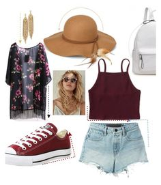 """""""Summer Hat"""" by chukifashion ❤ liked on Polyvore featuring Steve Madden, Aéropostale, T By Alexander Wang, Converse and Capwell + Co"""