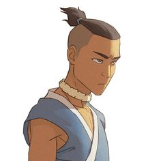 Ma dood.   Another component from that recent cover I did for Nickelodeon. I'll reveal the entire finished piece when I can. Side note: my iPhone predictive type always suggests Nickelback whenever I type Nickelodeon.   #sokka #avatarthelastairbender #atla #grutbrushes