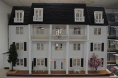 Colonial Mansion Dollhouse For Sale! | Rehabilitation Institute of Southern California