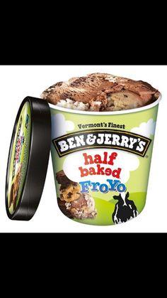 Ben & Jerry's Half Baked Frozen Yogurt at Giant Food