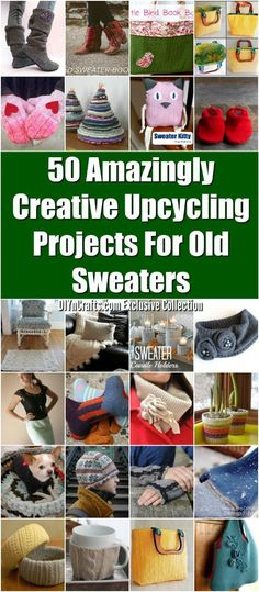 cheap for discount c72f7 590a0 50 Amazingly Creative Upcycling Projects For Old Sweaters - We all have  them old unused sweaters