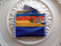 purse / blueorangeyellow by UTTOKO on Etsy, ¥3000