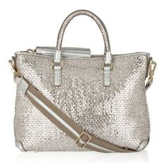 My Anya Huxley Tote. A bit of a silver theme going in - but metallics go with everything