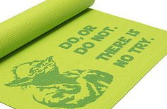 A mat that'll inspire you to sign up for that yoga class you've been meaning to try.