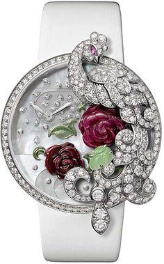 Cartier stunning peacock watch