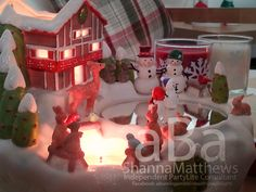 #homedecor #snowman #candles #PartyLite #Christmas #candleparties #tealights #Shannathatflaminglady #photography #jinglebells #reindeer