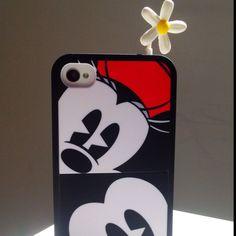 Mickey & Minnie & Her Flower :) Disney Mickey, Phone Cases, Iphone, Flower, Shop, Store, Phone Case, Flowers
