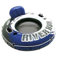 "New Intex River Run I Sport Lounge, Inflatable Water Float, 53"" Diameter #Intex"