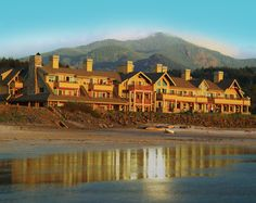 Ocean Lodge on Cannon Beach in Oregon-- one of our best vacations ever.