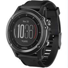 GPS Reloj Garmin Fenix 3 Zafiro HR a muñeca