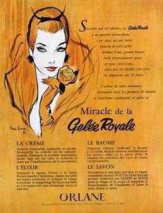 Orlane (Cosmetics) 1960 Gelée Royale, Pierre Simon